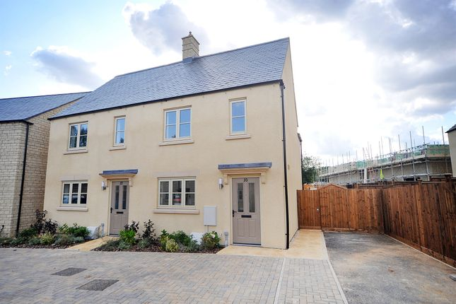 Thumbnail Semi-detached house for sale in Yells Way, Fairford, Gloucestershire