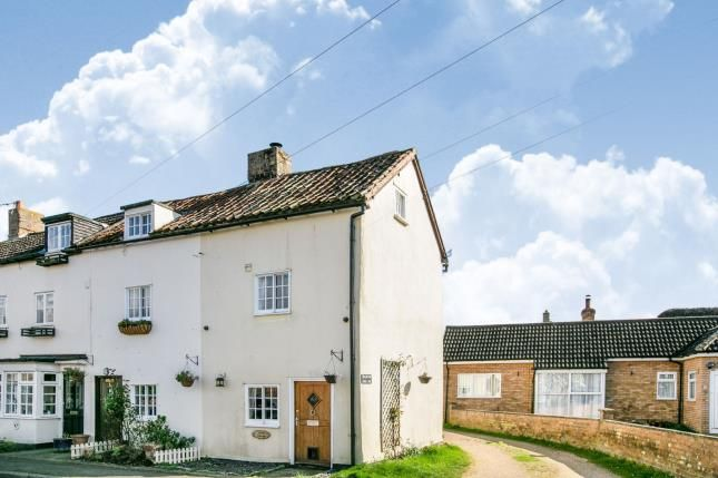 Thumbnail End terrace house for sale in Sand Lane, Northill, Biggleswade, Bedfordshire