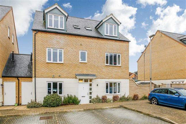 Thumbnail Semi-detached house for sale in Felsted, Caldecotte, Milton Keynes, Bucks