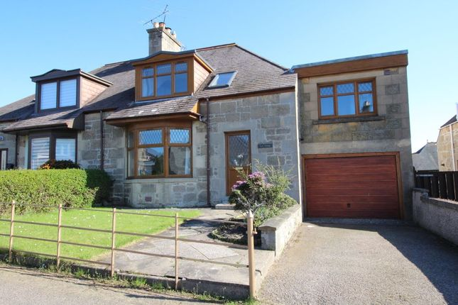 Thumbnail Semi-detached house to rent in Petrie Crescent, Elgin