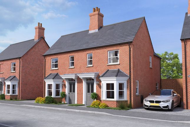 Thumbnail Semi-detached house for sale in De Havilland Gardens, Bury, Huntingdon