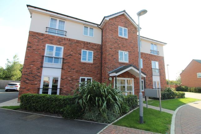 Thumbnail Flat for sale in Snow Crest Place, Stapeley, Nantwich
