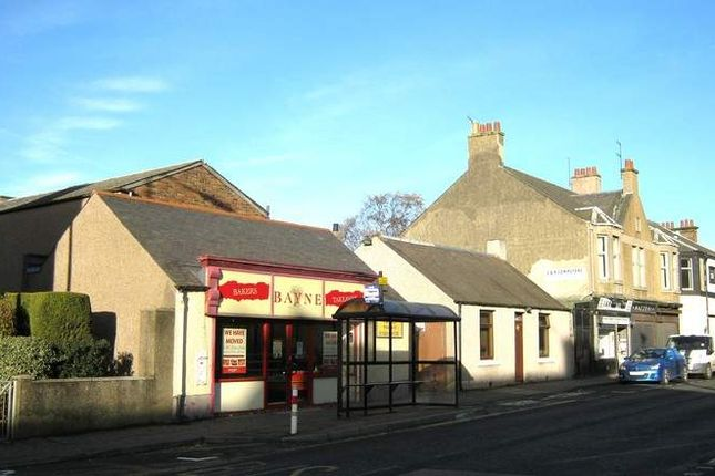 Retail premises to let in Main Street, Lochgelly