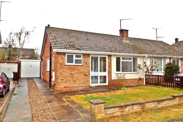Thumbnail Semi-detached bungalow for sale in Fullwell Road, Bozeat, Northamptonshire