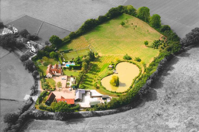 Thumbnail Equestrian property for sale in Bakers Lane, Felsted