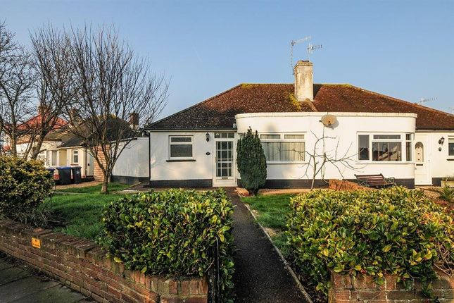 Thumbnail Semi-detached bungalow for sale in Clarendon Road, Broadwater, Worthing