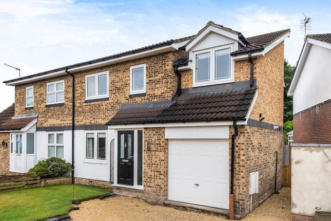 Thumbnail Semi-detached house for sale in Dowber Way, Thirsk, North Yorkshire