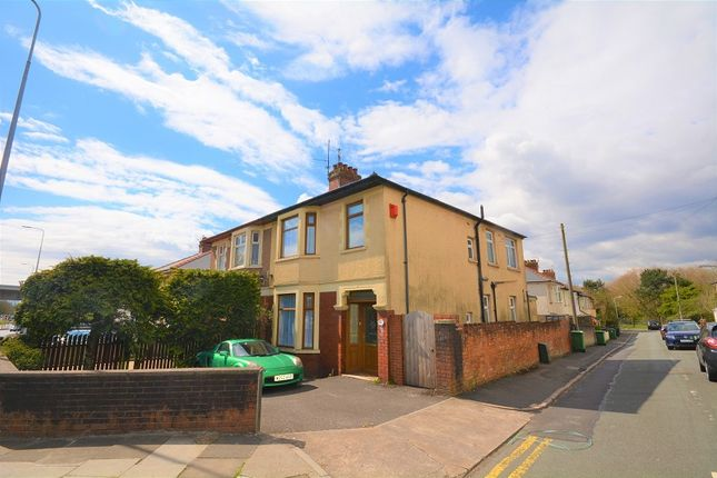 Thumbnail Semi-detached house for sale in Newport Road, Rumney, Cardiff.