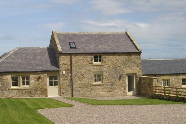 Thumbnail Barn conversion for sale in Grange House, Sturton Grange, Nr Warkworth, Northumberland