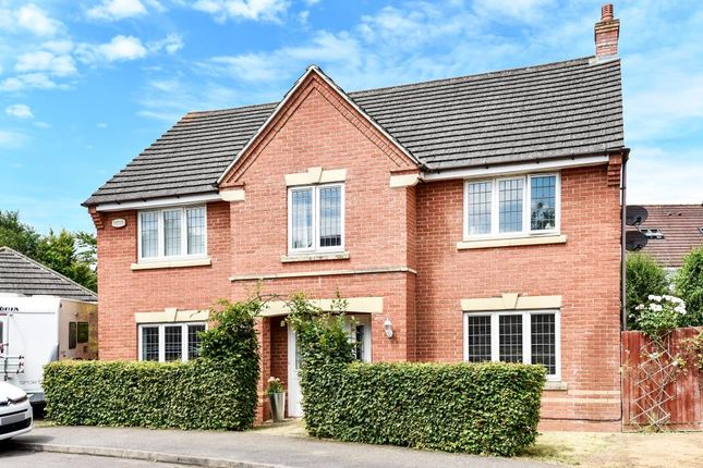 Thumbnail Detached house for sale in Purslane Drive, Bure Park, Bicester