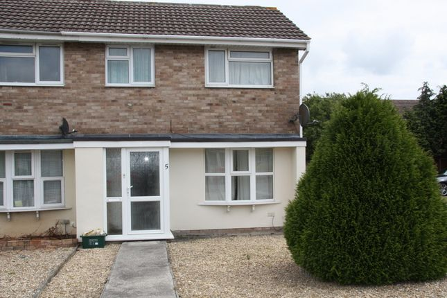 Thumbnail End terrace house to rent in Brookfield Walk, Clevedon