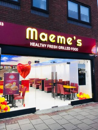 Thumbnail Restaurant/cafe for sale in High Road, Chadwell Heath, London