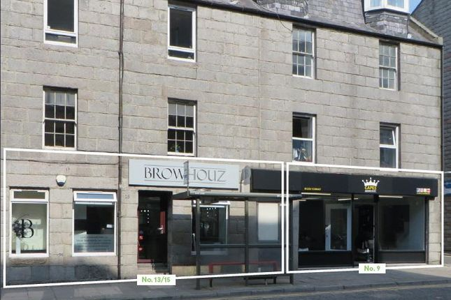 Thumbnail Commercial property for sale in 9 & 13/15 St. Andrew Street, Aberdeen