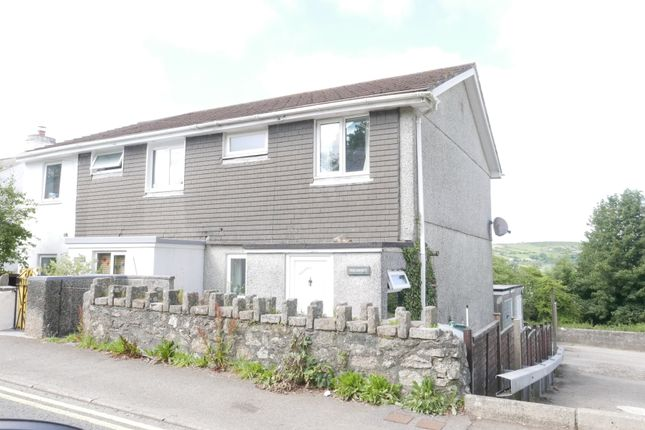 Thumbnail Semi-detached house to rent in Fore Street, St. Cleer, Liskeard, Cornwall