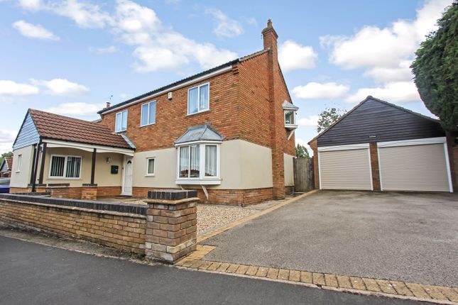 Thumbnail Detached house for sale in The Oasis, Glenfield, Leicester