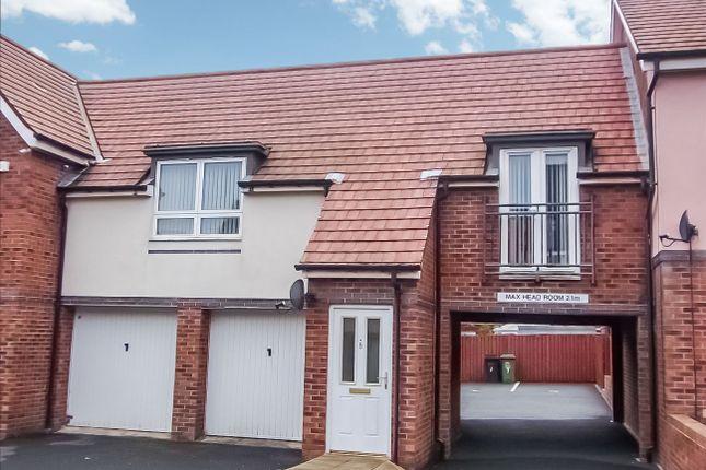 Thumbnail Flat to rent in Howard Walk, Ashington