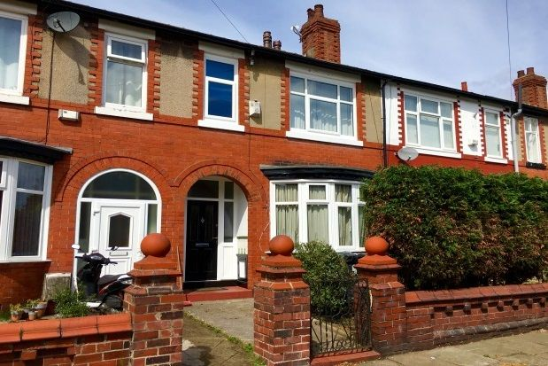 Thumbnail Terraced house to rent in St. Brendans Road North, Withington