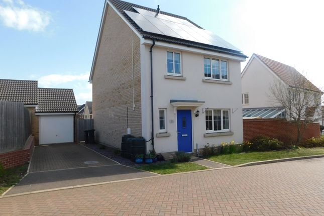 Thumbnail Detached house for sale in Crossbill Road, Stowmarket
