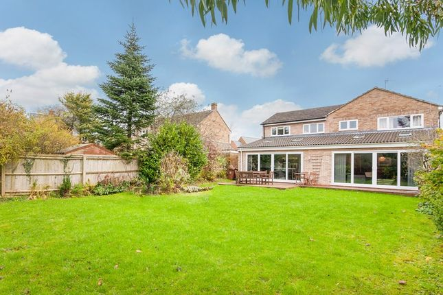 Thumbnail Detached house for sale in Heath Close, Milcombe, Banbury