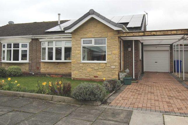Thumbnail Bungalow for sale in Morwick Close, Whitelea Chase, Cramlington