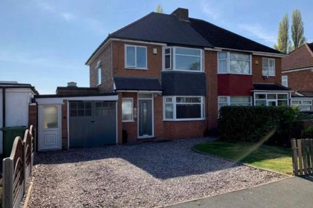 Thumbnail Semi-detached house to rent in Chester Road, Birmingham