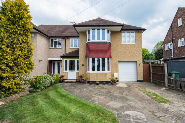 Thumbnail Semi-detached house for sale in Alington Grove, Wallington