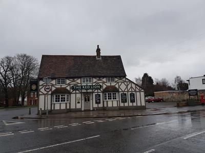 Thumbnail Pub/bar for sale in The Red Lion, 1 London Road, Biggleswade, Bedfordshire