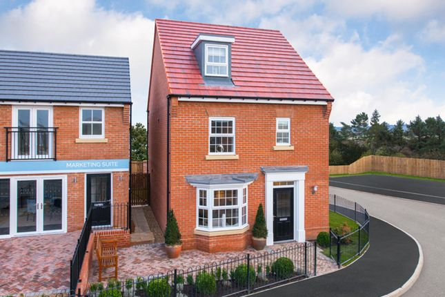 "Thumbnail Detached house for sale in ""Bayswater"" at Green Lane, Barnard Castle, Barnard Castle"