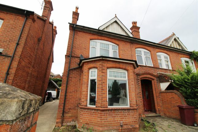Thumbnail Semi-detached house to rent in Church Road, Caversham, Reading