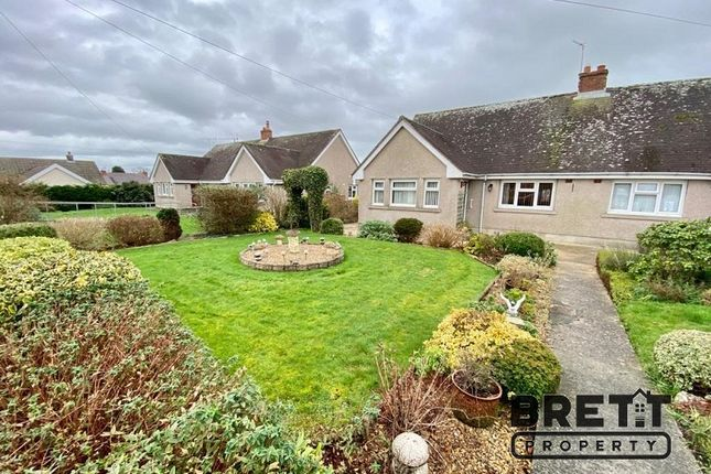 2 bed semi-detached bungalow for sale in Milton, Tenby, Pembrokeshire. SA70