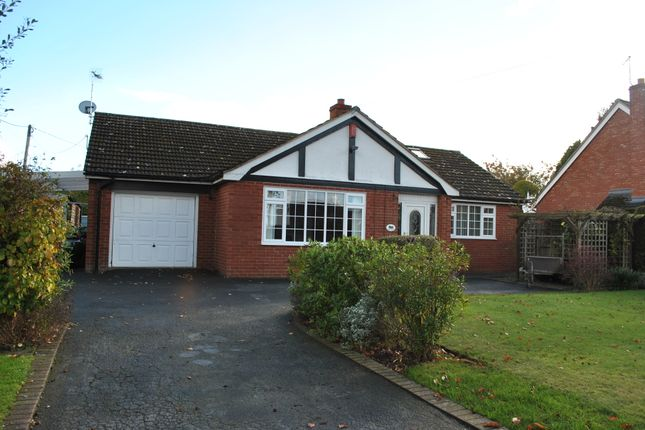 Thumbnail Detached bungalow to rent in Moreton Street, Prees, Whitchurch, Shropshire
