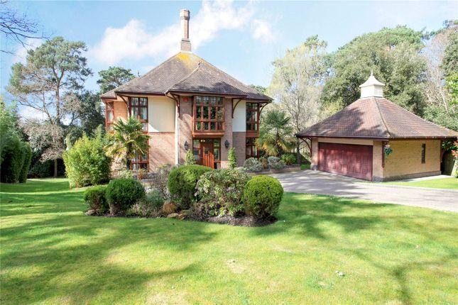 Thumbnail Detached house for sale in Crichel Mount Road, Evening Hill, Poole, Dorset