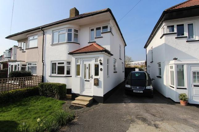 Thumbnail Semi-detached house to rent in Windsor Avenue, Uxbridge, Buckinghamshire