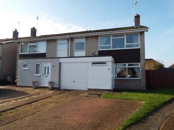 Thumbnail Semi-detached house for sale in Bury St Edmunds, Suffolk