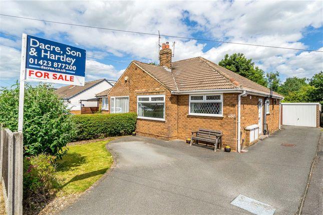 2 bed bungalow for sale in Woodfield Road, Harrogate HG1
