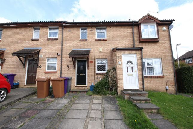 Thumbnail Terraced house to rent in Swift Close, Letchworth Garden City