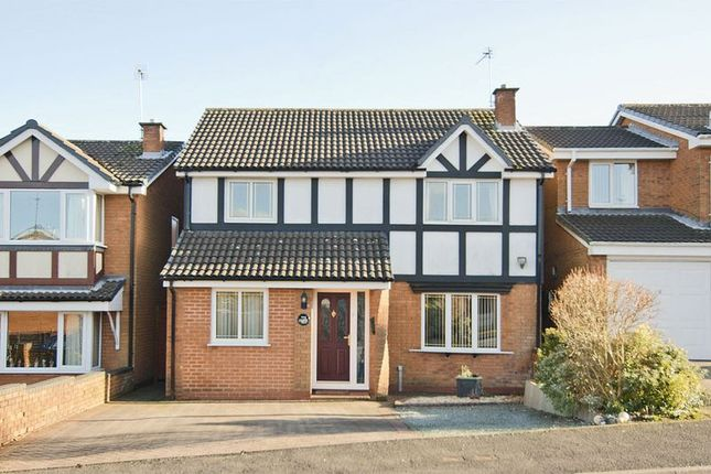Thumbnail Detached house to rent in St. George Drive, Rawnsley, Hednesford