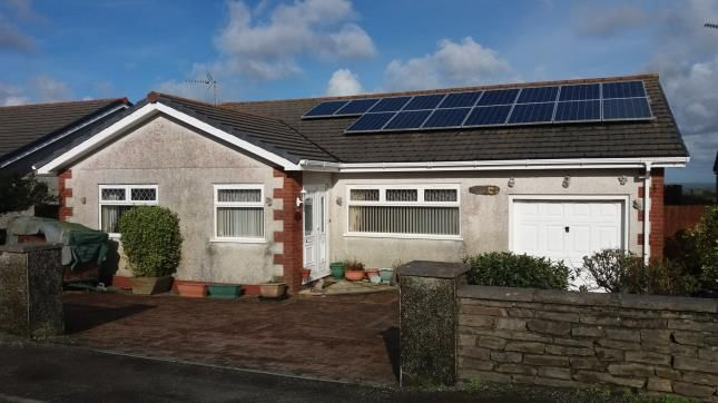 Thumbnail Bungalow for sale in Whitemoor, St. Austell, Cornwall