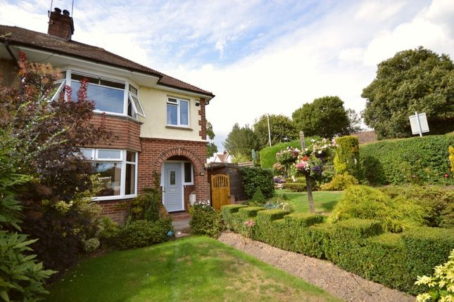 Thumbnail Semi-detached house for sale in Newlands Road, Tunbridge Wells