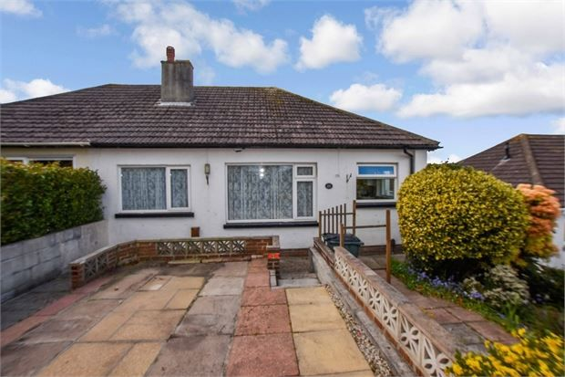 2 bed semi-detached bungalow for sale in Swanborough Road, Milber, Newton Abbot, Devon. TQ12