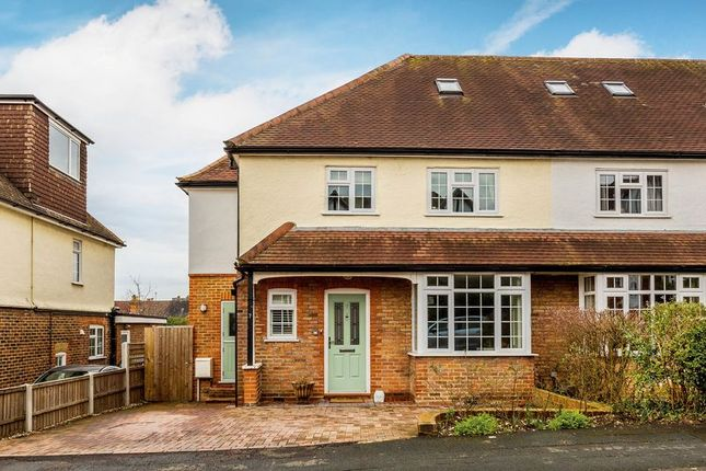 Thumbnail Semi-detached house for sale in Dunsdon Avenue, Guildford
