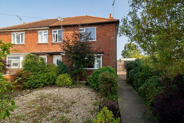 Thumbnail Semi-detached house for sale in School Lane, Bempton, Bridlington, East Yorkshire