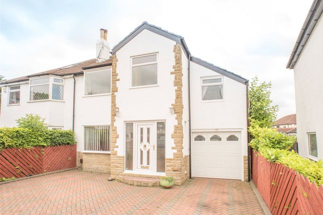 Thumbnail Semi-detached house to rent in Ringwood Gardens, Wellington Hill, Leeds, West Yorkshire