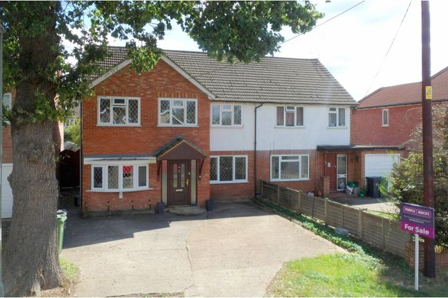 Thumbnail Semi-detached house for sale in Hamesmoor Road, Camberley