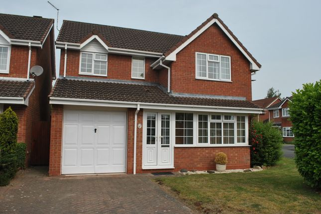 Thumbnail Detached house to rent in Oatfield Close, Whitchurch, Shropshire