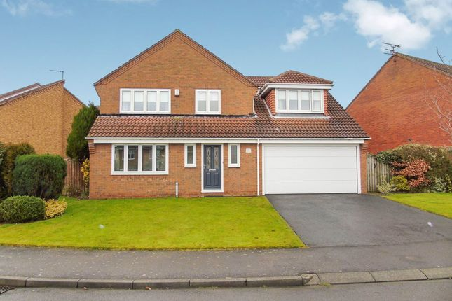 Thumbnail Detached house for sale in Ravens Hill Drive, Ashington
