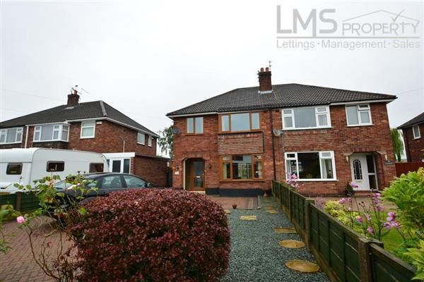 Thumbnail Semi-detached house to rent in Hubert Drive, Middlewich