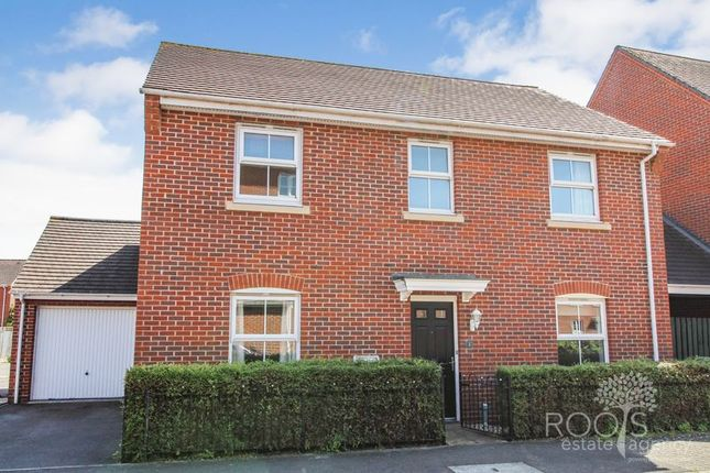 Thumbnail Detached house for sale in Coldstream Way, Thatcham