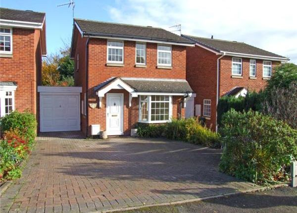 Thumbnail Detached house to rent in Ladbrook Close, Redditch