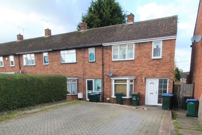 3 bed end terrace house to rent in Meadfoot Road, Coventry, West Midlands CV3